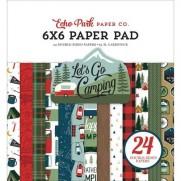 """Echo Park Pad 6"""" X 6"""" Allons Camper"""