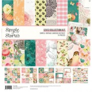 "Simple Stories Collection 12""X12"" Jardin Vintage"