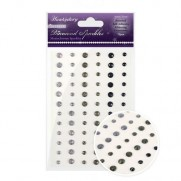 Hunkydory Crafts Cristaux scintillants Monochrome