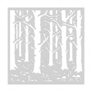 Hero Arts Stencil Forêt