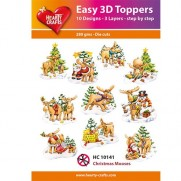 Hearty Crafts 3D toppers Orignal de Noël