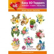 Hearty Crafts 3D toppers Sensations Printanières