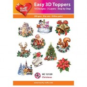 Hearty Crafts 3D toppers Noël 1