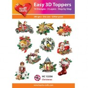 Hearty Crafts 3D toppers Noël