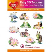 Hearty Crafts 3D toppers Oiseaux marins