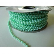 Cordon de perles Vert menthe