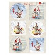 Marianne Designs Image Gnomes en hiver
