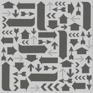 Simple Stories Stencil Flèches
