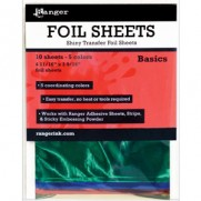 Ranger Shiny Transfer Foil Sheets Basics