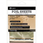 Ranger Shiny Transfer Foil Sheets Vintage