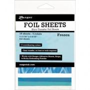 Ranger Shiny Transfer Foil Sheets Frozen