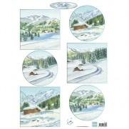 Marianne Design Images Paysages d'hiver