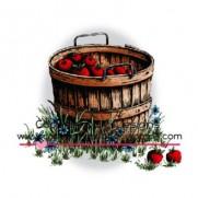 C.C. Designs Étampe Panier de pommes