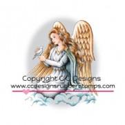 C.C. Designs Étampe Ange & Colombe