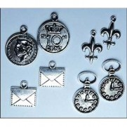 Charms Marianne Designs Hommes Vintage