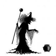 Lavinia Étampe Willow la Sorcière