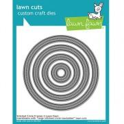 Lawn Fawn Matrice de découpe Stitched Circle Frames