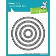 Lawn Fawn Matrice de découpe Large Stitched Circles
