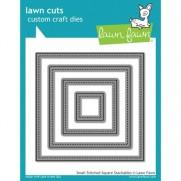 Lawn Fawn Matrice de découpe Small Stitched Carrés