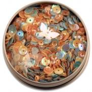Buttons Galore Sequins Papillons printanniers