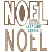 La-La Land Crafts Dies Mot Noel