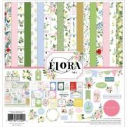 """Carta Bella Ensemble 12"""" x 12"""" Flora No. 4"""