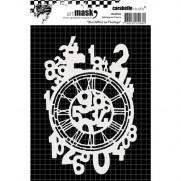 Carabelle Studio Masque 4 X 6 Nombres sur l'horloge