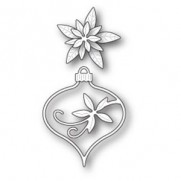 Memory Box Die Fanciful Poinsettia Ornement