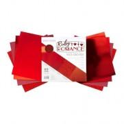 "Craft Perfect Pad 6""X6"" Ruby Romance"