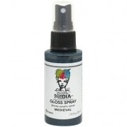 Dina Wakley Media Gloss Spray Médiéval