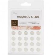 """Aimants Snaps magnétiques petits 3/8"""""""