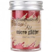 Stampendous Micro Glitter Rouge