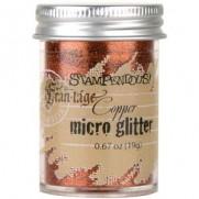 Stampendous Micro Glitter Cuivre