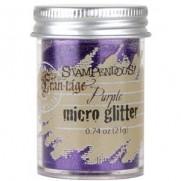 Stampendous Micro Glitter Purple