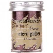 Stampendous Micro Glitter Marron