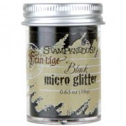 Stampendous Micro Glitter Noir