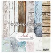 """Asuka Studio Collection 12""""X12"""" Bois vieilli et cristaux"""