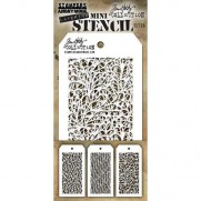 Tim Holtz Ensemble Mini Stencil 26
