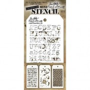 Tim Holtz Ensemble Mini Stencil 29