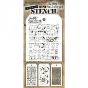 Tim Holtz Ensemble Mini Stencil 3