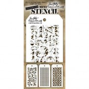 Tim Holtz Ensemble Mini Stencil 7