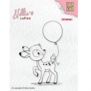 Nellie's Choice Étampe Jeune Faon avec Ballons