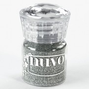 Nuvo Poudre embossage Glitter Argent