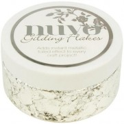 Nuvo Gilding Flakes Argent