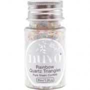 Nuvo Confetti Rainbow Quartz Triangles
