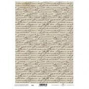 Papiers de scrapbooking translucides Calligraphie