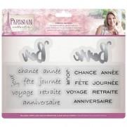 Parisian Étampe & Matrice Dictons en Français