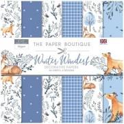 """The Paper Boutique Pad 8"""" X 8"""" Merveilles hivernales"""
