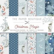 """The Paper Boutique Pad 8"""" X 8"""" Noël Magique"""