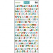 Pinkfresh Studio Autocollants Mini Alphabet
